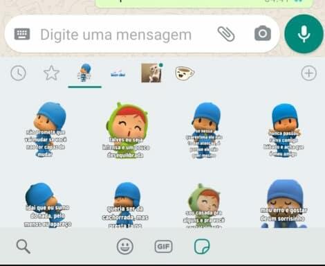 figurinhas do pocoyo instaladas whatsapp