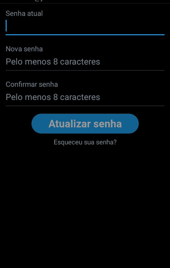 Como mudar sua senha no Twitter, pelo celular, imagem 4