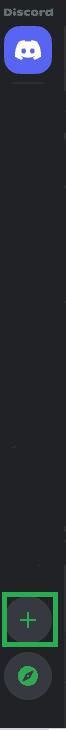 Imagem 1, como criar um servidor no Discord